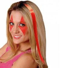 Extensions de cheveux rouges longs pour femme