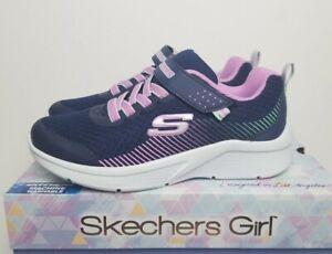 Skechers Girls fashion Sneaker Shoes Microspec 302016 Blue Lavender