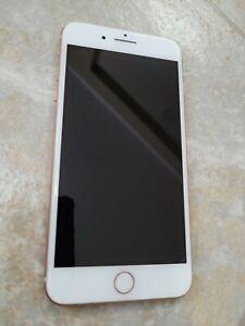 Apple iPhone 8 Plus - 64GB - Rose Gold (Unlocked)