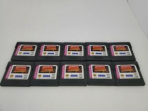 10 LOT NEW Loose Sports Triva games for Sega Game Gear  A22