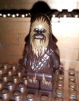 Lego Star Wars Figur Chewbacca mit Waffe Minifig 75245 75234 75222 75159 75174