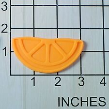 Lemon Wedge Fondant Cookie Cutter AND Stamp #1561