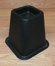 """Genuine Ikea Replacement Squared 6"""" (inch) Tall Black Bed Riser Only **READ**"""