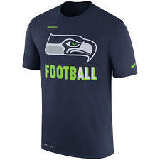 Men's Seattle Seahawks NFL Sideline Legend Football Performance T-Shirt Small