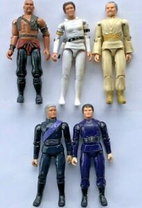 1978 MEGO BUCK ROGERS LOT OF 5 TIGERMAN WILMA DRACO DR HUER KANE ACTION FIGURES