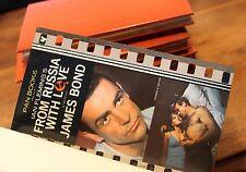 1964 Ian Fleming James Bond 007 Espionnage Bibliophilie Reliure maroquin !