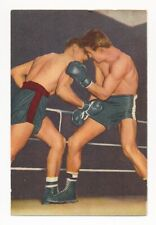 1954 RANDY TURPIN (HOF) Blue Band Margarine #125 Boxing Card Sporten En Spelen