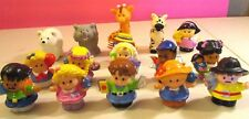 Little People lot of 16 People and Animals Lot B- so cute- see pics-
