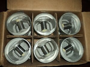 Nos 1941 1952 Chevrolet Truck 216 Piston Set L6 Triplex 0.60