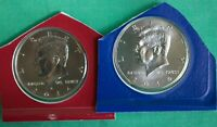 2014 P and D Kennedy Half Dollar Coin US Mint Set 2 BU Blister Pk Fifty Cent UNC