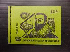 GB 1970 February 10/- Machin Booklet XP11 NB2243
