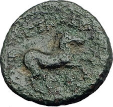 ALEXANDER III the GREAT Lifetime 336BC Ancient Greek Coin APOLLO & HORSE i64394