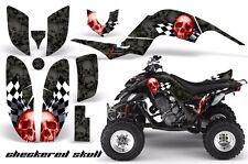 AMR Racing Yamaha Raptor660 Graphic Kit Wrap Quad Decals ATV 2001-2005 CHKRD R K
