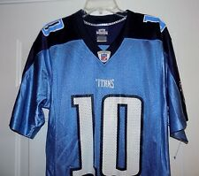 TENNESSEE TITANS NFL #10 Young Football Players Jersey Reebok Men's Size S Small