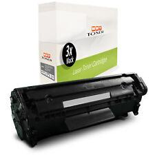 3x MWT Patrone für HP LaserJet 3030-AIO 1018 3050-Z M-1319-F 1020 3052