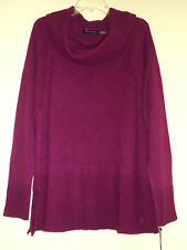 Ivanka Trump NWT Magenta Wildberry Sweater Pullover XL Lovely Color!