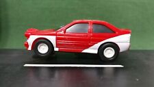 Red & White Rally 1:43 Scale Slot Car