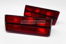VW Golf mk1 79-83 POSTERIORE LUCI LAMPADE COPPIA Driver Passeggero tutto ROSSO NON VERNICIATE