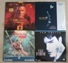 Firestorm, Bird, Romancing The Stone & The Firm LaserDisc Lot