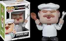 Funko Pop Vinyl Muppets # 10 Swedish Chef (Unavailable in Australia) Sealed RARE