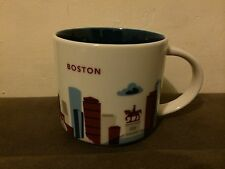 "Starbucks ""YOU ARE HERE"" YAH Collector Series, Boston City 14oz Mug - NWT - NIB"