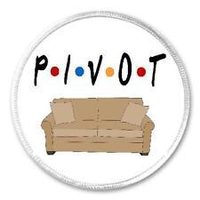 """Pivot Sofa - 3"""" Sew / Iron On Patch Friends Funny Joke Humor Gift Friends Fan"""