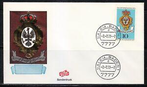 Germany 1977 cover SST Sonderstempel Salem Baden 7-7-77-7 7777