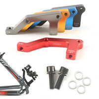 Bicycle Disc Brake Adapter For 180/203mm Disc Brake Rotor Post Caliper IS UK
