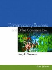 Contemporary Business Law and Online Commerce Law (5th Edition) by Henry R. Chee