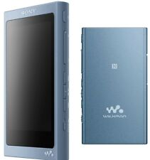 New Sony Walkman NW-A45 Hi-Res 16GB MP3 Player w/Bluetooth & FM - Moonlight Blue