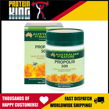 AUSTRALIAN BY NATURE 500MG PROPOLIS 365 CAPS IMMUNE SUPPORT COLD FLU RELIEF ABN