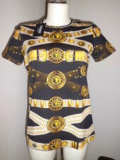 Versace Versus  T-Shirt  Woman Donna  Belt Size L