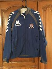 Hummel Blue Sports Track Suit Jacket Size M
