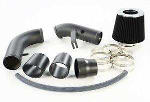 BLK ALLOY SHORT AIR INDUCTION FILTER KIT FOR MAZDA MX5 NB MK2 MK2.5 1.8