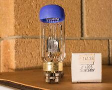 16mm etc Projector Lamp Bulb A1/206 750Watt 240Volt G17Q CWA Brand New In Box