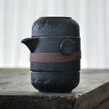 ceramic teapots with 2 cups a tea sets portable travel office tea set drinkware