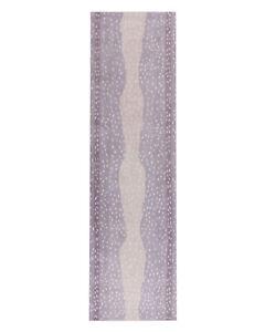 New Brand 2.8 x 8  Runner Antelope Purple Handmade Contemporary Style Wool Rug