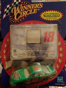 Winners Circle Team Authentics Bobby Lebonte1/64 Car w/A Piece Of Uniform