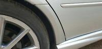 SUBARU LEGACY ESTATE BP DRIVER SIDE RH O/S REAR WHEEL ARCH TRIM SILVER 39D