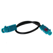 pigtail jumper Cable RG174 15cm with double Fakra Z plug male straight connector