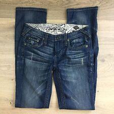Stitch's Maya Barn Stretch Straight Leg Women's Jeans Size 27 NWOT W29 (U17)