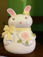 Grasslands Road Rabbit Cookie Jar     NEW