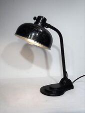 """Antike """"HALA"""" Tisch Lampe Art Deco Bauhaus Arbeitsplatzleuchte ~20er"""