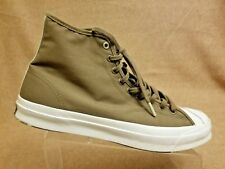 Converse Jack Purcell High Top Fashion Tan Brown Sneakers Size Men 12 Wo's 13.5