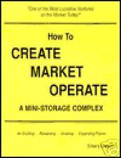 How to Create Market Operate a Mini Storage Complex ...