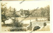 CUSTER STATE PARK SOUTH DAKOTA GAME LODGE STEVENS RPPC 1928 VINTAGE (JL6-15)