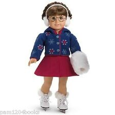 AMERICAN GIRL MOLLY SKATING OUTFIT + SKATES/MUFF ACCESSORIES NIB NO DOLL INCLUD