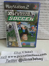XS JR. LIGUE SOCCER  pal Sony Playstation 2 ps2 game gioco console