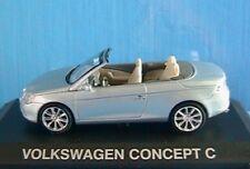 VW VOLKSWAGEN CONCEPT C CAR NOREV 1/43 GRIS BLEU ALTAYA LIGHT BLUE GREY