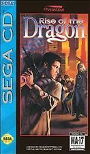 Rise of the Dragon RARE Action Game For Sega CD System 1994 COMPLETE VERY GOOD
